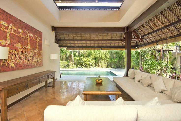 Villa 3 living room at Villa Kubu, Seminyak, Bali