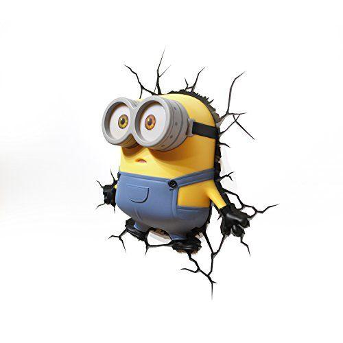3D-Wandleuchte Minions (Bob), Ich - einfach unverbesserlich