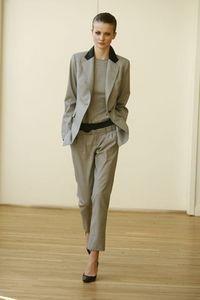 Зимний женский деловой костюм