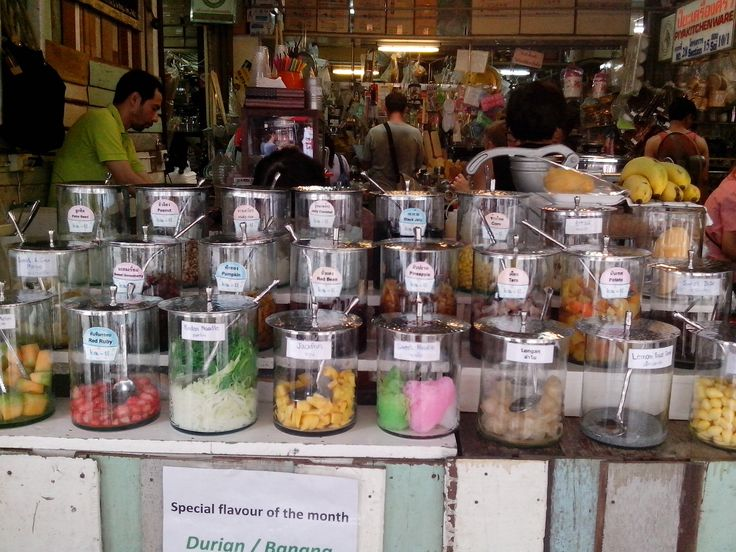 Cocconut Ice cream Must try in Chatucak Market...