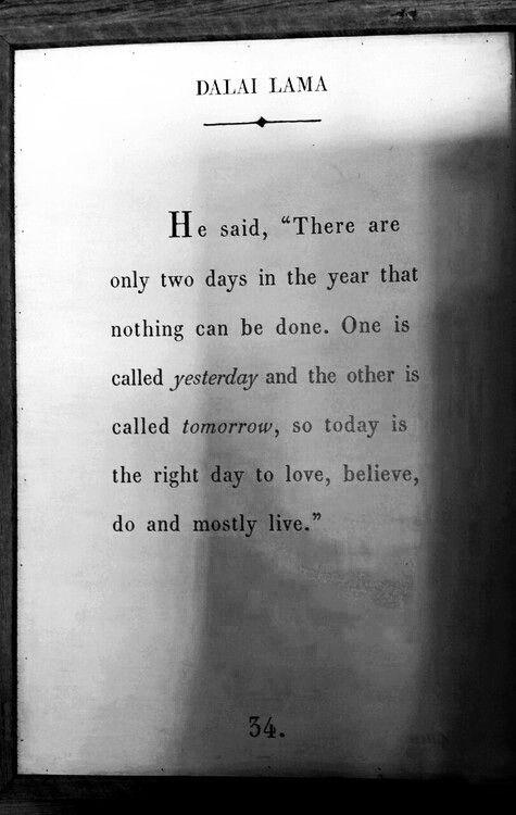 Beautiful words from the Dalai Lama