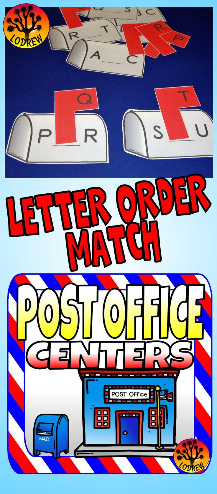 106 pages of Post Office and Mail centers. Activities include literacy, math, beginning sounds, ending sounds, rhyming, visual discrimination, counting, tracing, number sets, letter matching, fine motor, and more. For kindergarten, preschool, SPED, child care, homeschool, or any early childhood setting.