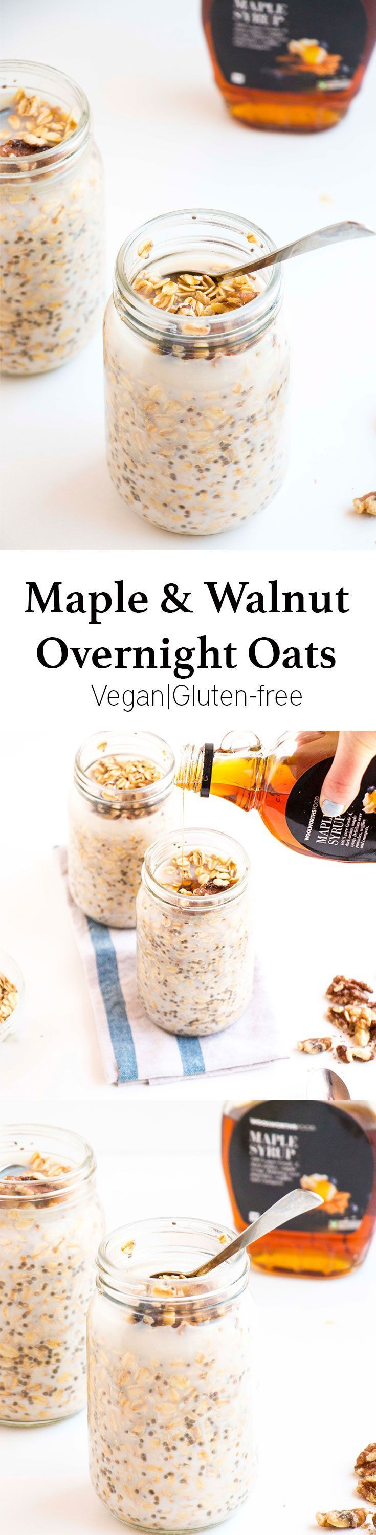 I love this overnight oats recipe not only because it is incredibly delicious, but because it only takes 5min to make and is incredibly healthy. Perfect as an on the go breakfast.