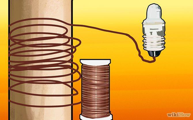 Make a Simple Electric Generator