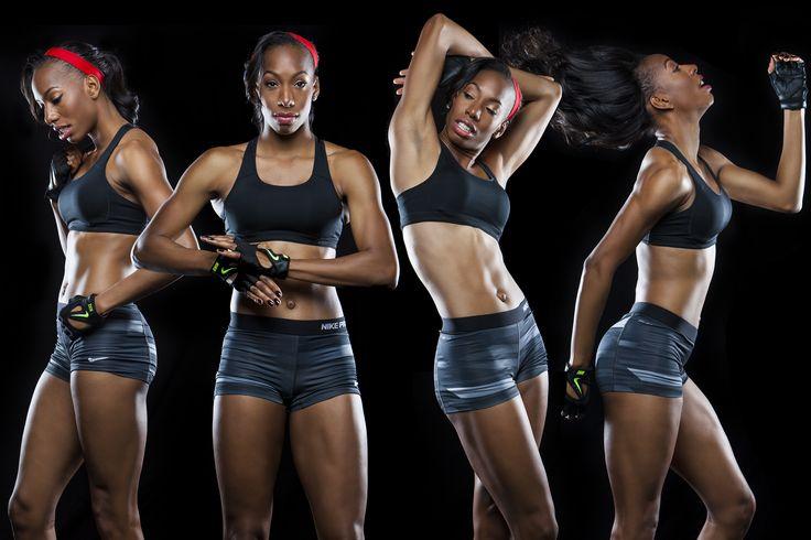 Client: Brigetta Barrett (2012 Olympic Silver Medalist for USA Track & Field. Women's High Jump) http://www.usatf.org/Athlete-Bios/Brigetta-Barrett.aspx
