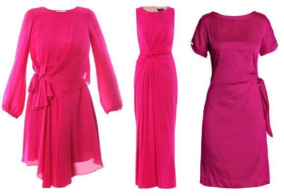 Купить платье цвет фуксии