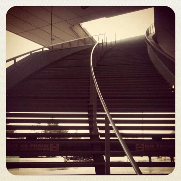 Stairs, Palais des Congrès, Paris