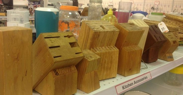 Stop throwing out old knife blocks. Here are 10 amazing ways to re-use them