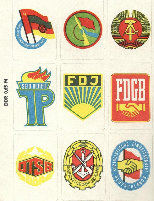 DDR Stickers #ddrmuseum