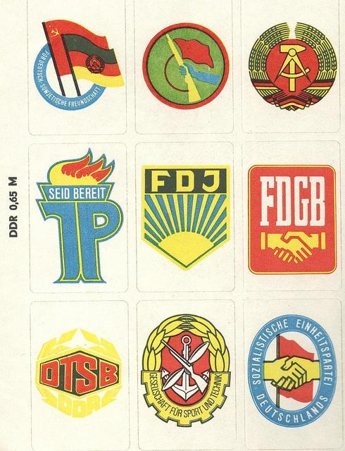 DDR Stickers #ddrmuseum