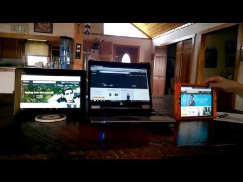 Mr. Robot Shop - Speed Comparison Between Ipad, Android Tablet, and HP E...