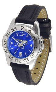 Middle Tennessee State MTSU Ladies Leather Band Sports Watch SunTime. $50.14