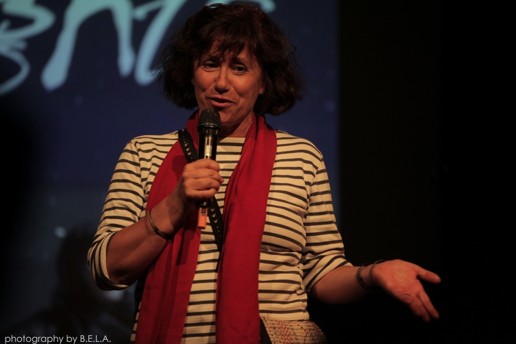 Noë Mendelle, filmmaker and director of documentary Poets of Protest: Lkhadra Mabruk, featured in Sahara Nights, talks about her work, by Bela Molnar