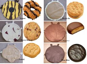 Project Bon Bon: Girl Scout Cookie Costumes