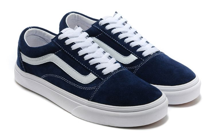 Find New Arrivals ylklHZ New Arrived Mens and Womens Vans Old Skool Navy Delicate styles