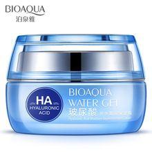 BIOAQUA Cremas Hidratantes Reposición Ácido Hialurónico Crema día JA cara cuidado de la piel cremas Para Blanquear la piel contra el envejecimiento anti arrugas(China)
