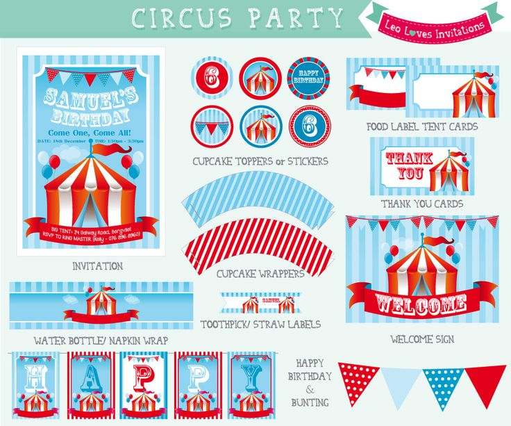 12 best images about finger food – Circus Party Invites