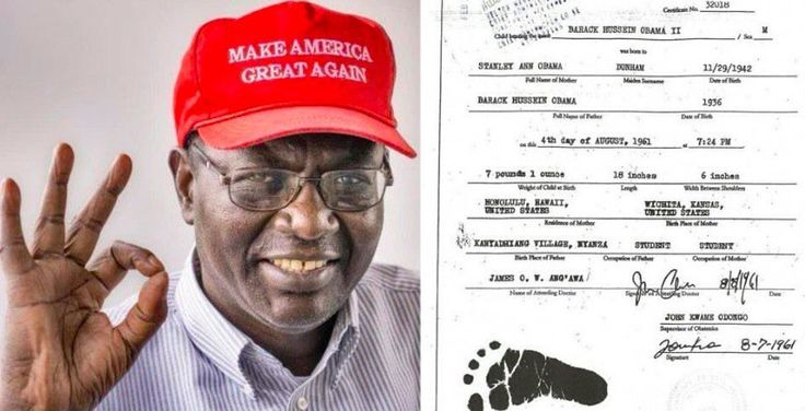 Malik Obama Shared a Copy of His Brother's 'Actual' Birth Certificate — And the 'Birthplace' Has Internet Talking