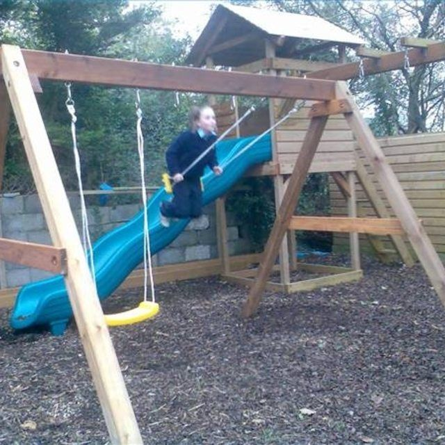 Make Your Own Swing Set With 4X4 Lumber