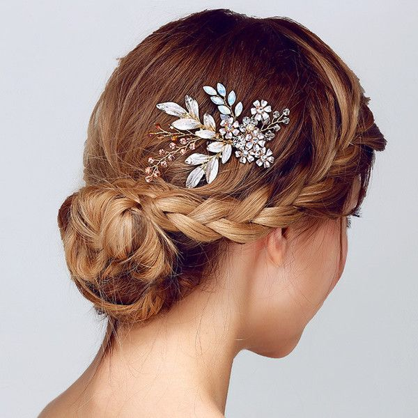 I Found Some Amazing Stuff Open It To Learn More Don T Wait Http M Dhgate Com Product Bride Hair Accessories Rose Gold Hair Accessories Wedding Hair Pieces