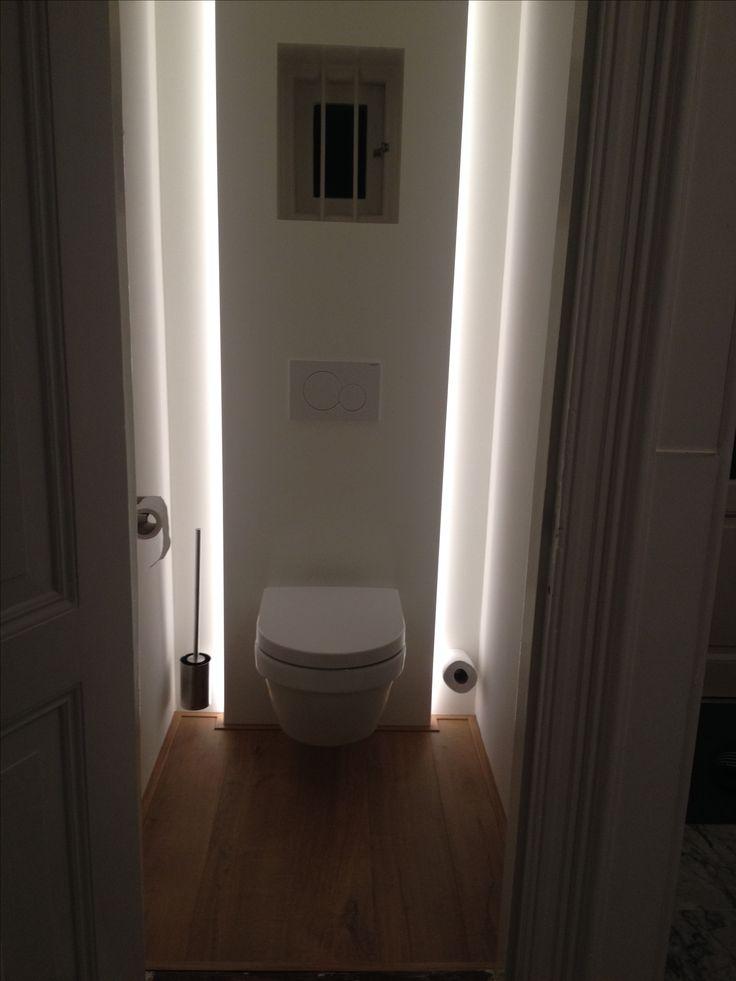 Q-lichting heeft mooie verlichting in de wc gemaakt!