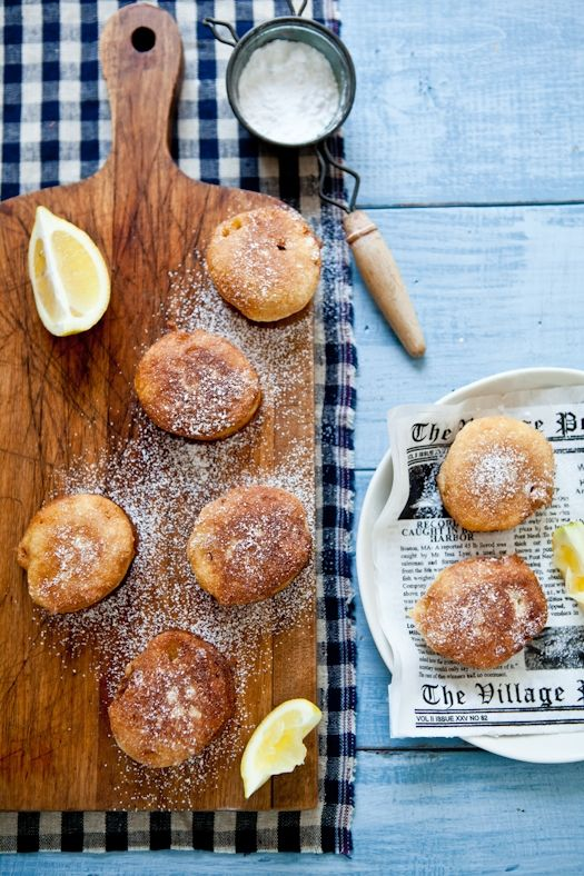 Lemon Fritters