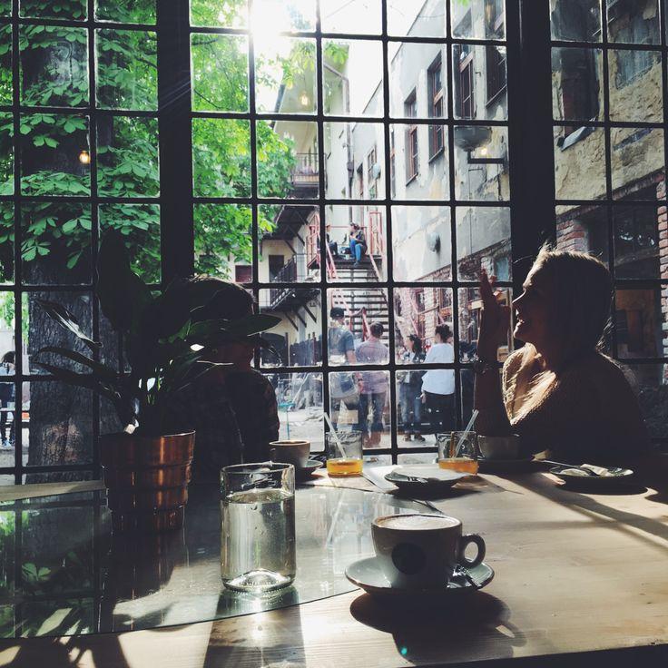 coffeeinprague.cz   #kavarnacohledajmeno #cafe #cafeé #coffeehouse #Prague #Praha #káva #coffee #interior #urban #industrial #design #interiordesign #wood #street #unique #handmade #DIY #industry #madebyhand #bricks  #cool #bulbs #minimalism #minimalistic #minimal #different #atmosphere #window #people #talk