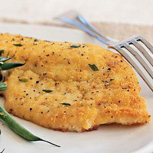 Potato-Crusted Yellowtail Snapper Recipe | MyRecipes.com
