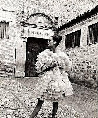 Elio Berhanyer dress, image by Sharok Hatami 1965