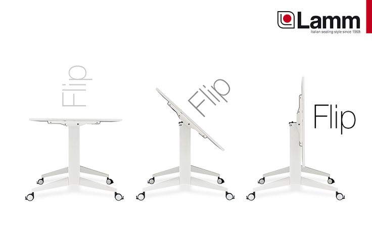 "Lamm is renewing its offer in the ""Tables"" sector: ""FLIP""     Read more: http://goo.gl/mIsxIh"