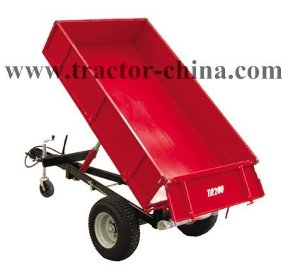 The self-dump type trailers are great around any small acreage or hobby farm. http://www.tractor-china.com/farm-implements.htm