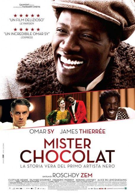Mister Chocolat, il trailer italiano con Omar Sy e la locandina, storia del  primo