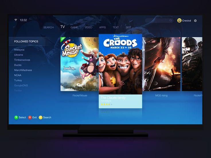 TV interface
