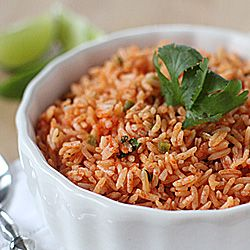 Mexican Red Rice-- a perfect side dish to Mexican inspired meals!