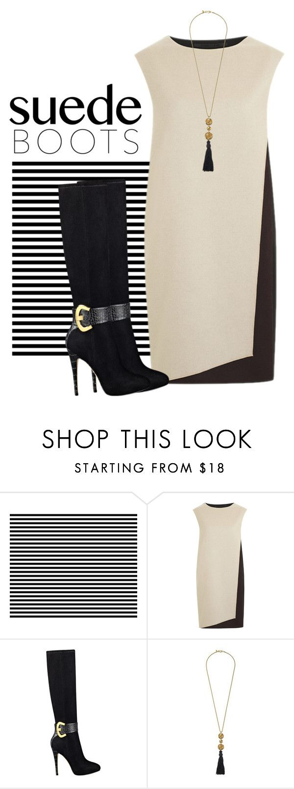 """""""Untitled #3651"""" by barones-tania ❤ liked on Polyvore featuring PINGHE, GUESS and Kenneth Jay Lane"""