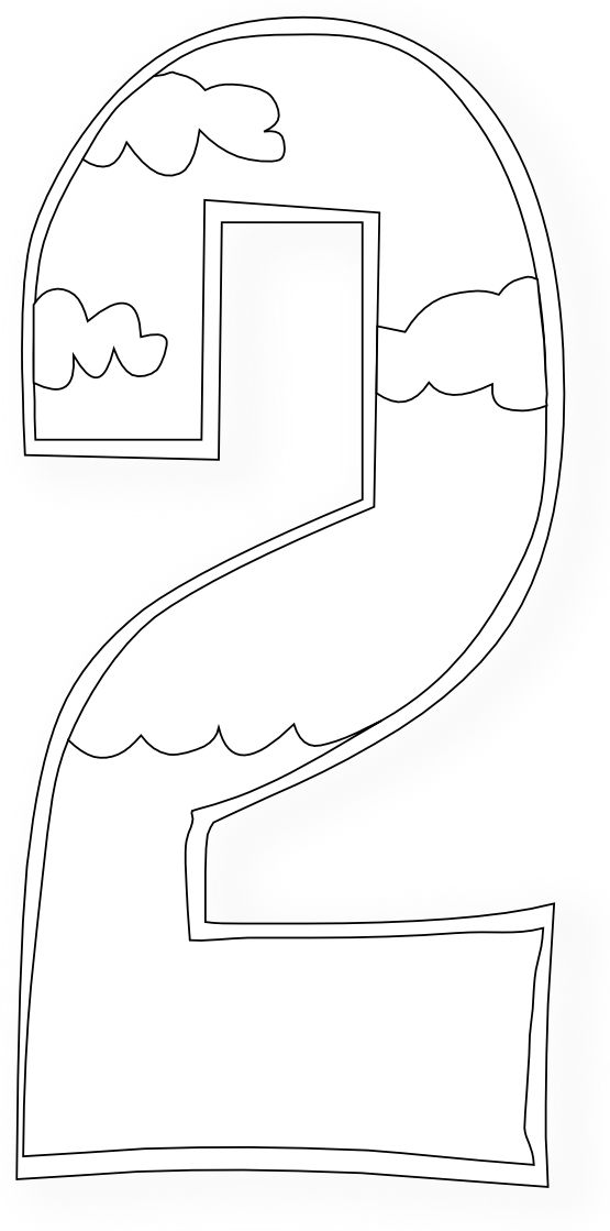 Creation Days Numbers 2 Coloring Book Colouring Black White Line Art 555px.png - I found day 2!!!