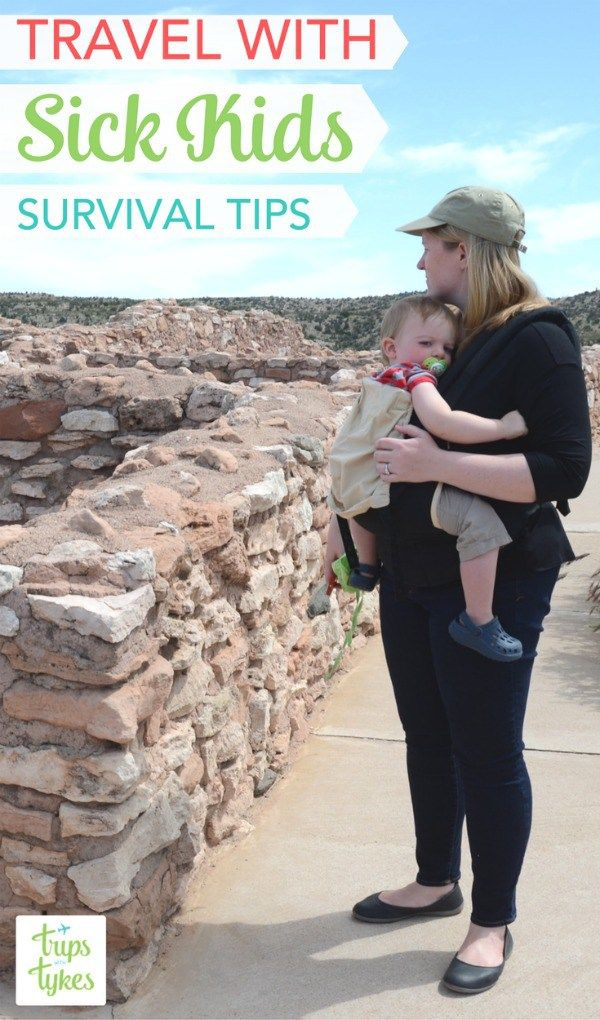 Traveling with Sick Kids: Have you every had a child get sick right before or during a big family trip? Essential tips on how to handle minor illnesses during travel with your kids. [ad] #HealthySavings #CollectiveBias @walgreens