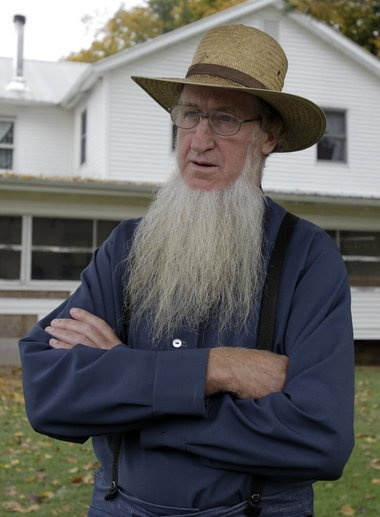 . installed in his home, something that few Amish would consider.  blog.cleveland.com