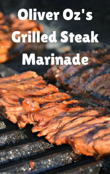Dr Oz's son Oliver joined his show to reveal the Grilled Steak Marinade recipe they both love to prepare together. For a tender, moist and flavorful skirt steak, this marinade is a must!