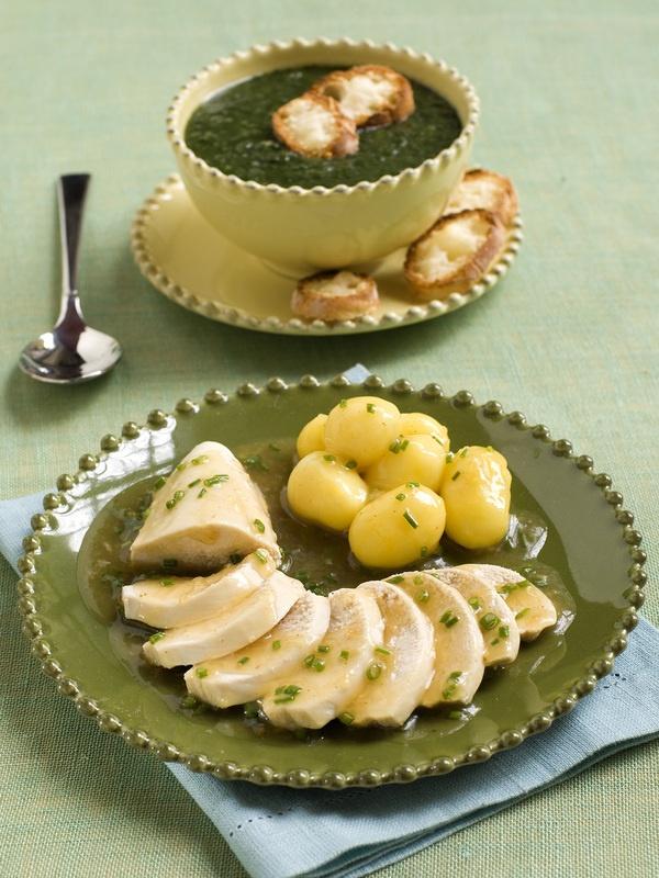 Petti di pollo al vapore in salsa agrodolce al limone