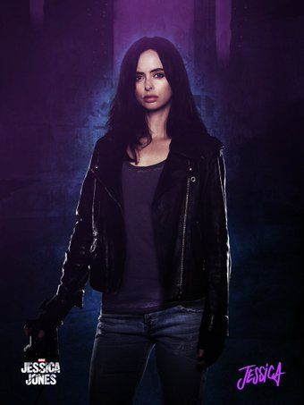 Jessica Jones Marvel - Netflix poster