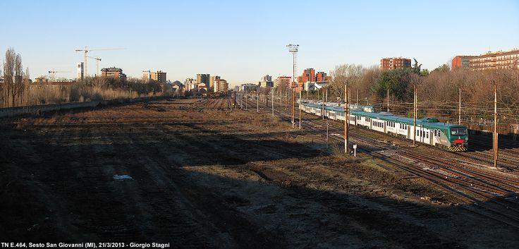 Dismissed industrial railyard Sesto S.Giovanni.