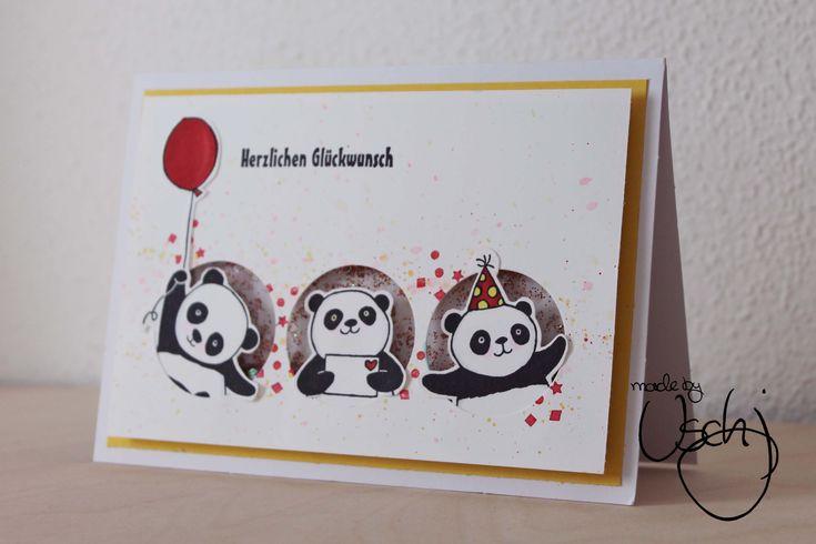 Открытки панда своими руками