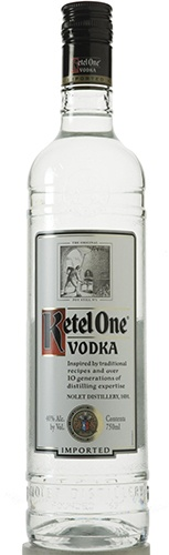 Produced at the Nolet Distillery in Schiedam, Holland, the Ketel One process begins with the careful selection of the finest European wheat, bringing smoothness, purity and neutrality to the vodka.  A part of the ultra wheat spirit is re-distilled in small batch copper pot stills, including the original coal-fired Distilleerketel #1 or Pot Still Number 1. According to the distiller, the final product is a perfect marriage of old world pot still craft and modern distilling techniques.