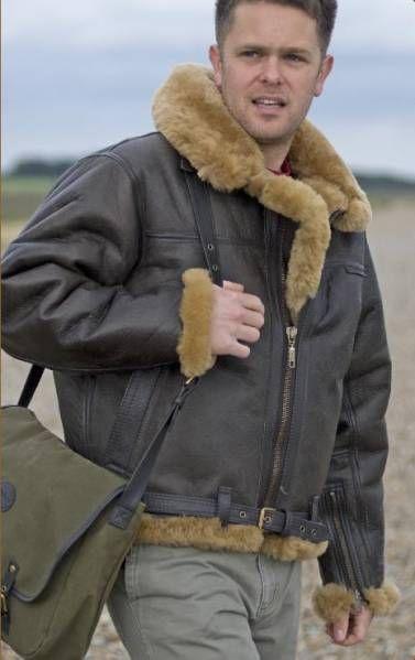17 Best images about Sheepskin Flight Jackets on Pinterest | Men's ...