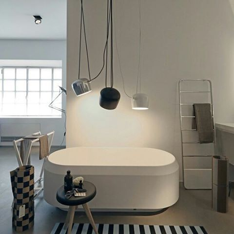 Design project: Agape 12 – Concept #Store  Wellbeing in the centre of Milan  Lariana Bathtub by @agapebathrooms  #designbest  #traveltuesday #bathroominspiration