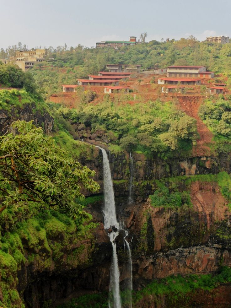 Waterfall at Mahabaleshwar - India