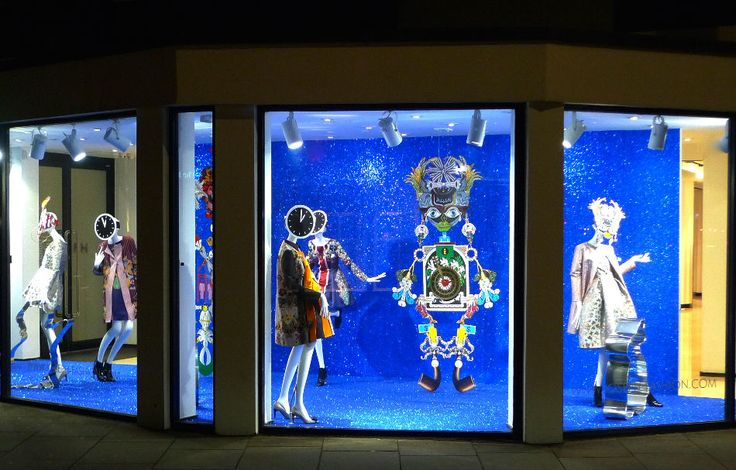 Joseph Fashion, London // Mary Katrantzou in collaboration with Harlequin Design // September 2014