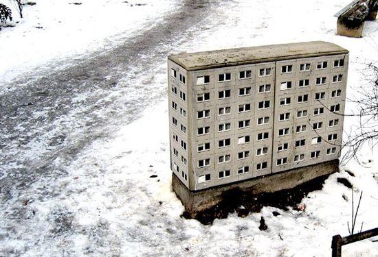 Street Art: Miniature Architecture