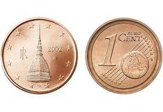 moneta rara 1 centesimo con errore Mole Antonelliana